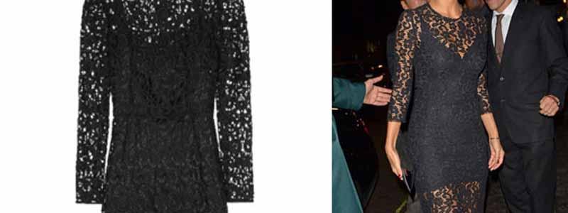 Nicole-Scherzingers-Dolce-Gabbana-Macramé-Lace-Dress